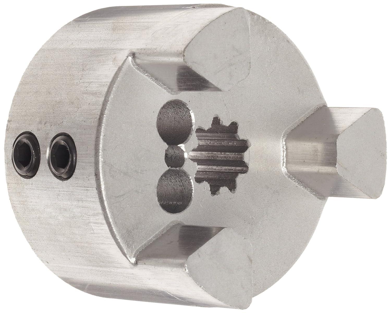 15T Spline Bore 16//32 DP with L-Loc Sintered Iron Lovejoy 37907 Size L100 Jaw Coupling Hub 2.54 OD Inch
