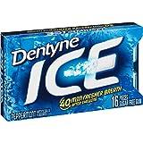Dentyne Ice Sugar-Free Gum (Peppermint, 16 Piece, Pack of 9)