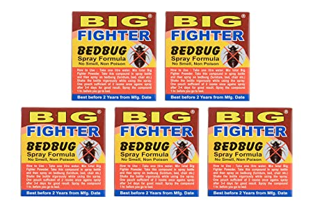 Big Fighter Bed Bug Killer Powder (Pack of 5)