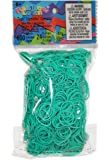 Rainbow Loom Solid Rubber Bands Childrens Jewelry Making Kits, Teal