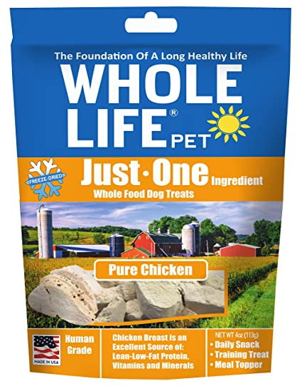 Amazon Whole Life Pet Just One Single Ingredient Freeze Dried