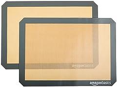 AmazonBasics Silicone Baking Mat- 2 Pack