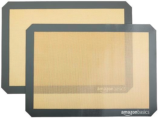 159 opinioni per AmazonBasics- Tappetini da forno in silicone, 2 pz