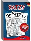 Noris Spiele 606194320 - Yatzy, Spielblock im Maxi-Format