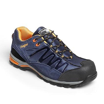 J Hayber Works 85558-1 - Calzado de seguridad Sport line Grip AZUL MARINO