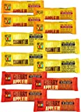 Kind Pressed Bars Variety Pack of 12 Pressed Fruit and Chia Bars (1.2 Ounce)