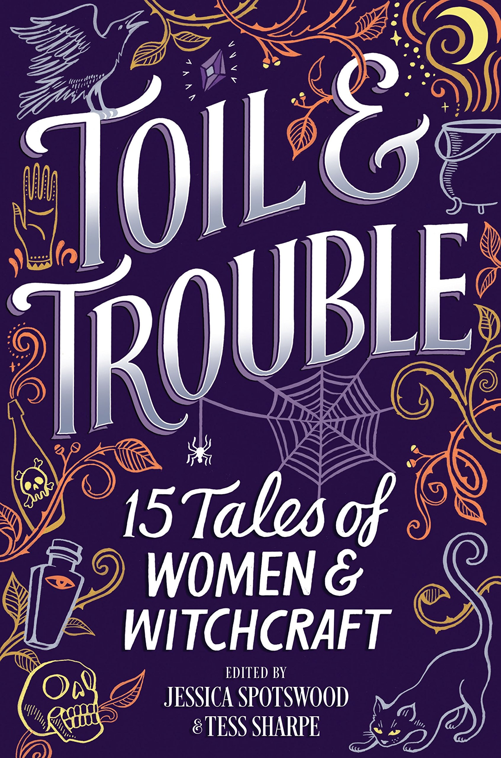 Image result for toil and trouble book cover