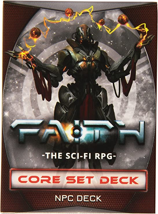 Burning Games BGE11024 Faith Zero-G Culture Gear /& NPC Deck