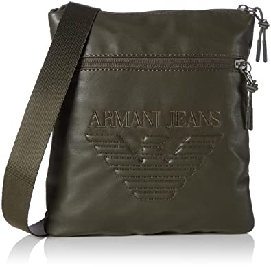 ebaa98c488 Armani Jeans Mens 9321797A937 Shoulder Bag  Amazon.co.uk  Shoes   Bags