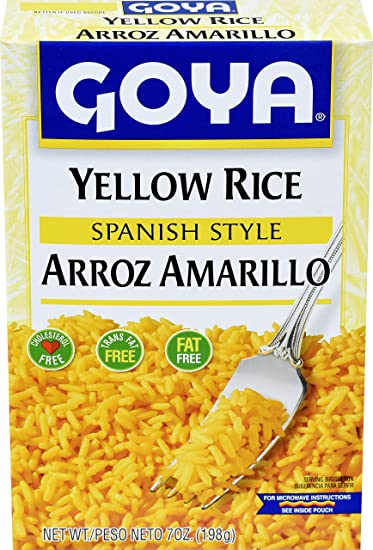 Amazon Goya Foods Yellow Rice Mix 7 Oz Grocery Gourmet Food