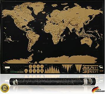 Inventy Stilvolle Xxl Rubbelkarte Weltkarte Zum Rubbeln Rubbel