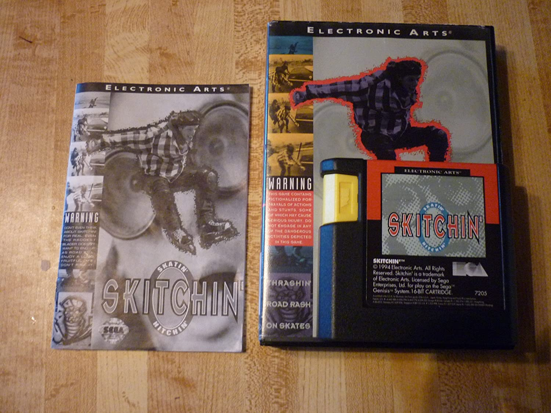 Amazon.com: Skitchin' - Sega Genesis: Video Games