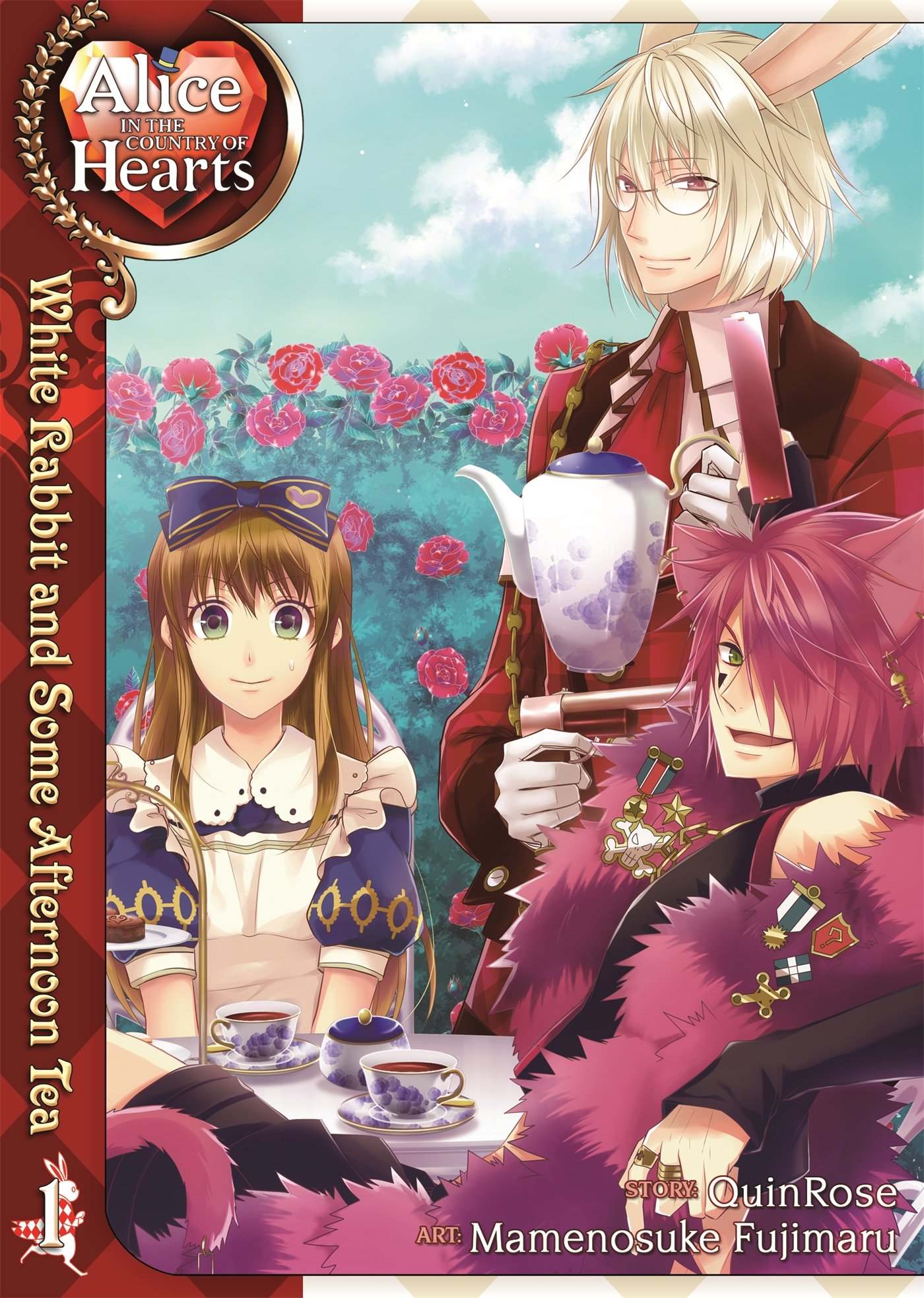 Alice in the Country of Hearts: White Rabbit and Some Afternoon Tea, Vol. 1 by Seven Seas