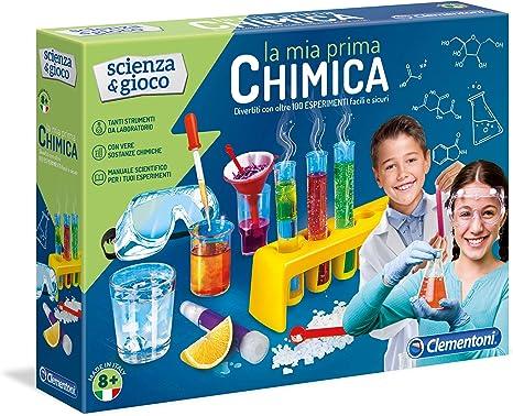 Clementoni 12800 - Juego de química [Importado de Italia]: Amazon ...