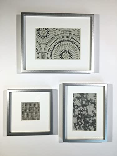 Wall Accent Art Decor Gray Silver