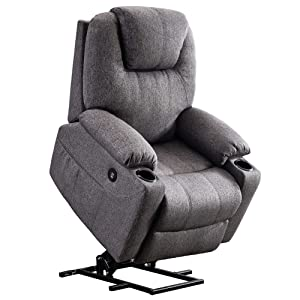 Mcombo Electric Power Lift Recliner Chair with Massage and Heat