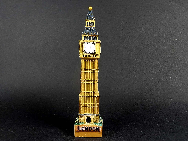 Models 1 Figurine souvenir de Londres peinte /à collectionner Motif Big Ben Taille M