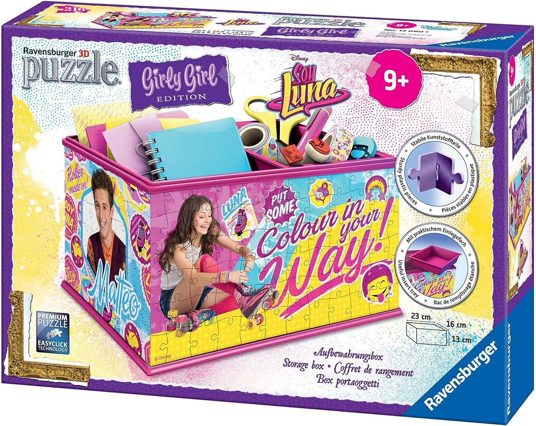 Soy Luna - Girly Girl, Puzzle 3D Organizador, 216 Piezas (Ravensburger 12090): Amazon.es: Juguetes y juegos