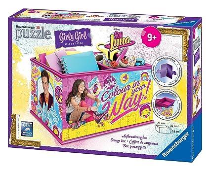 Soy Luna - Girly Girl, Puzzle 3D Organizador, 216 Piezas (Ravensburger 12090)
