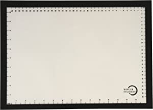 Mercer Culinary Silicone Bake Mat with Black Border Half Size, 11 7/8 Inch by 16 1/2 Inch