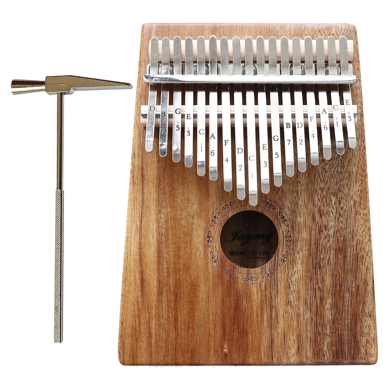 Jaymz Kalimba with 17 keys thumb piano (Mahogany) HYGENT MUSICAL INSTRUMENT CO. LTD KB-001