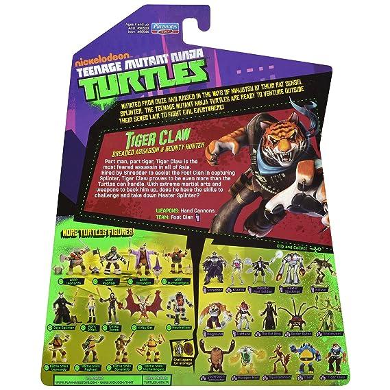 Amazon.com: Teenage Mutant Ninja Turtles Tiger Claw cifra ...