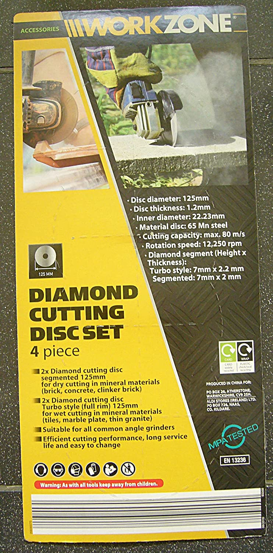 Cutting disc sizes addax timco diamond ceramic tilemarble cutting disc sizes title workzone einhell diamond cutting angle grinder wet doublecrazyfo Gallery