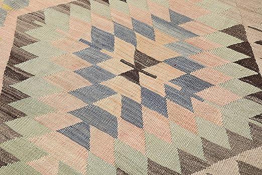 Amazon.com: Kilim - Alfombra turca (71.7 x 118.9 in), diseño ...