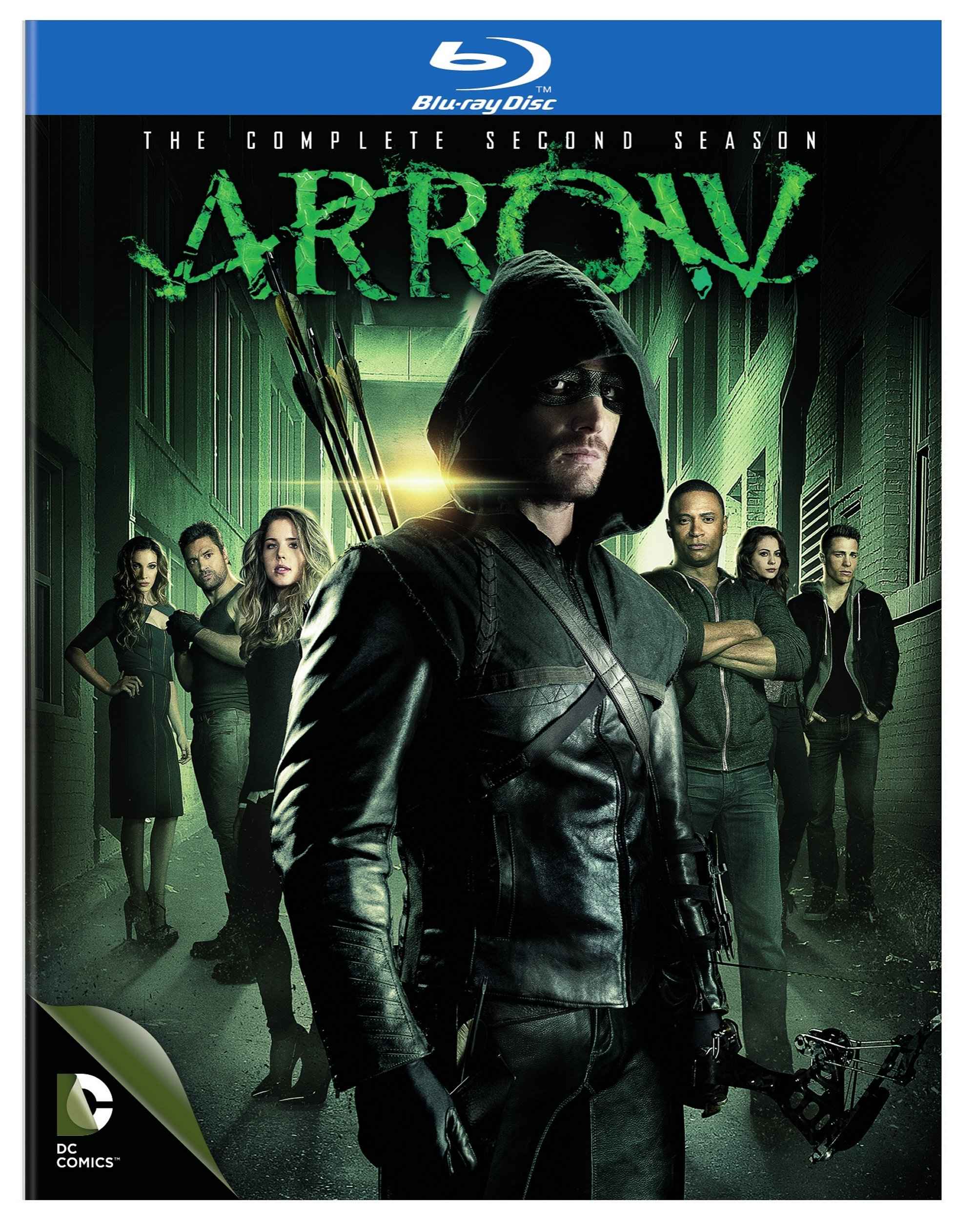 Blu-ray : Arrow: The Complete Second Season (DC) (Boxed Set, 4 Disc)