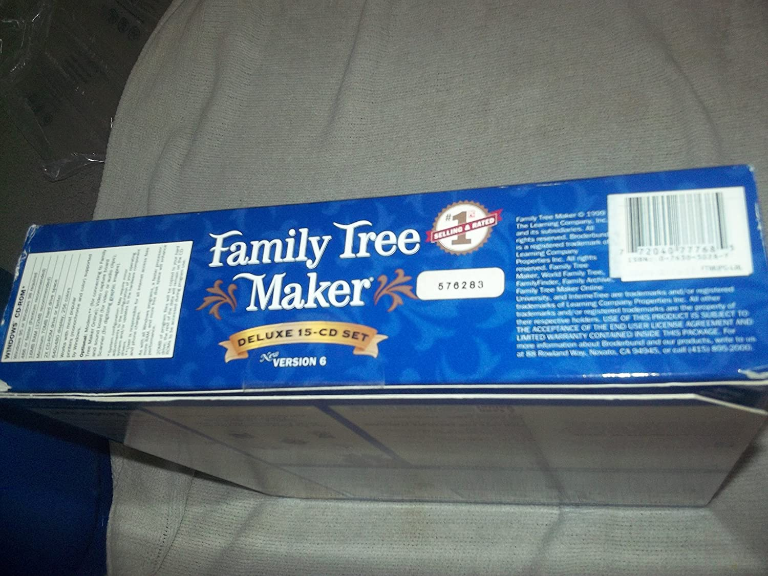 amazon com family tree maker deluxe 15 cd set version 6
