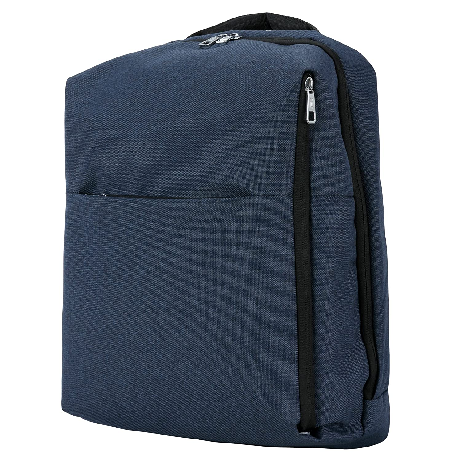 Water Resistant Laptop Backpack, Anti-Theft School Travel Backpack Fits Up to 15.6 Inch Laptop Blue