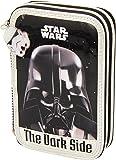 Star Wars - Plumier Doble pequeño, 34 Piezas (SAFTA 411501054)