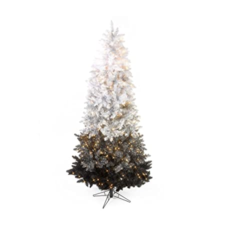 Sterling Inc. 7.5' Vintage Black Ombre Spruce Pre Lit Christmas Tree - Sterling Inc. 7.5' Vintage Black Ombre Spruce Pre Lit Christmas Tree