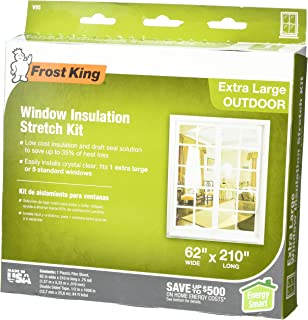 Frost King V739H Indoor Shrink Window Kit 42 Inch by 62 Inch