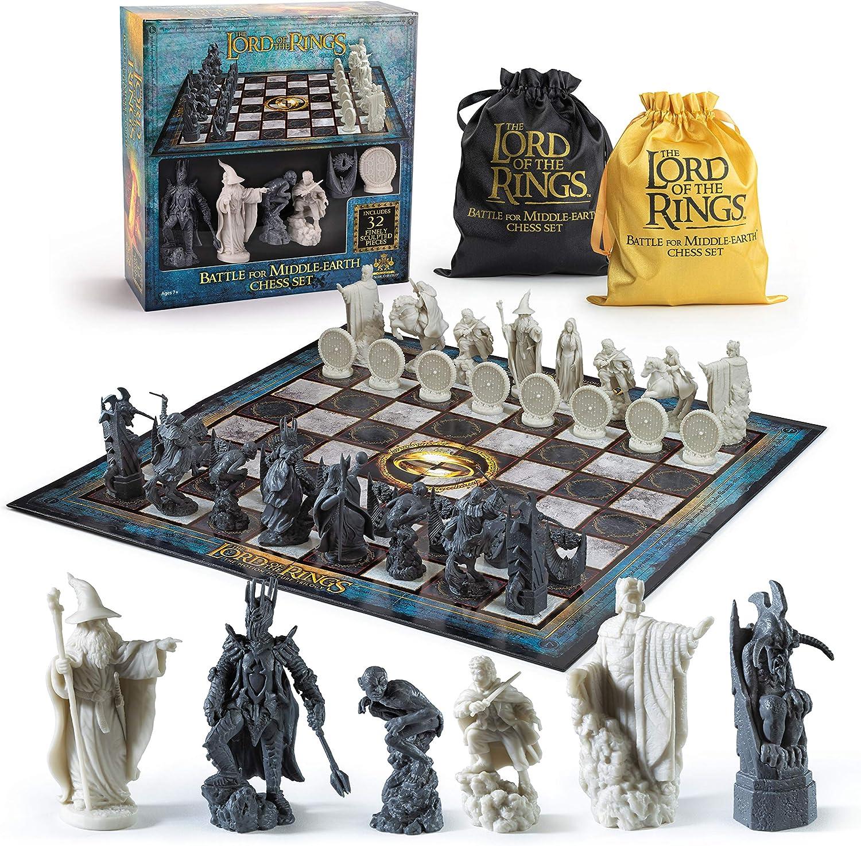 The Noble Collection Set ajedrez El Señor de los Anillos, Multicolor (NOB2174): Amazon.es: Juguetes y juegos