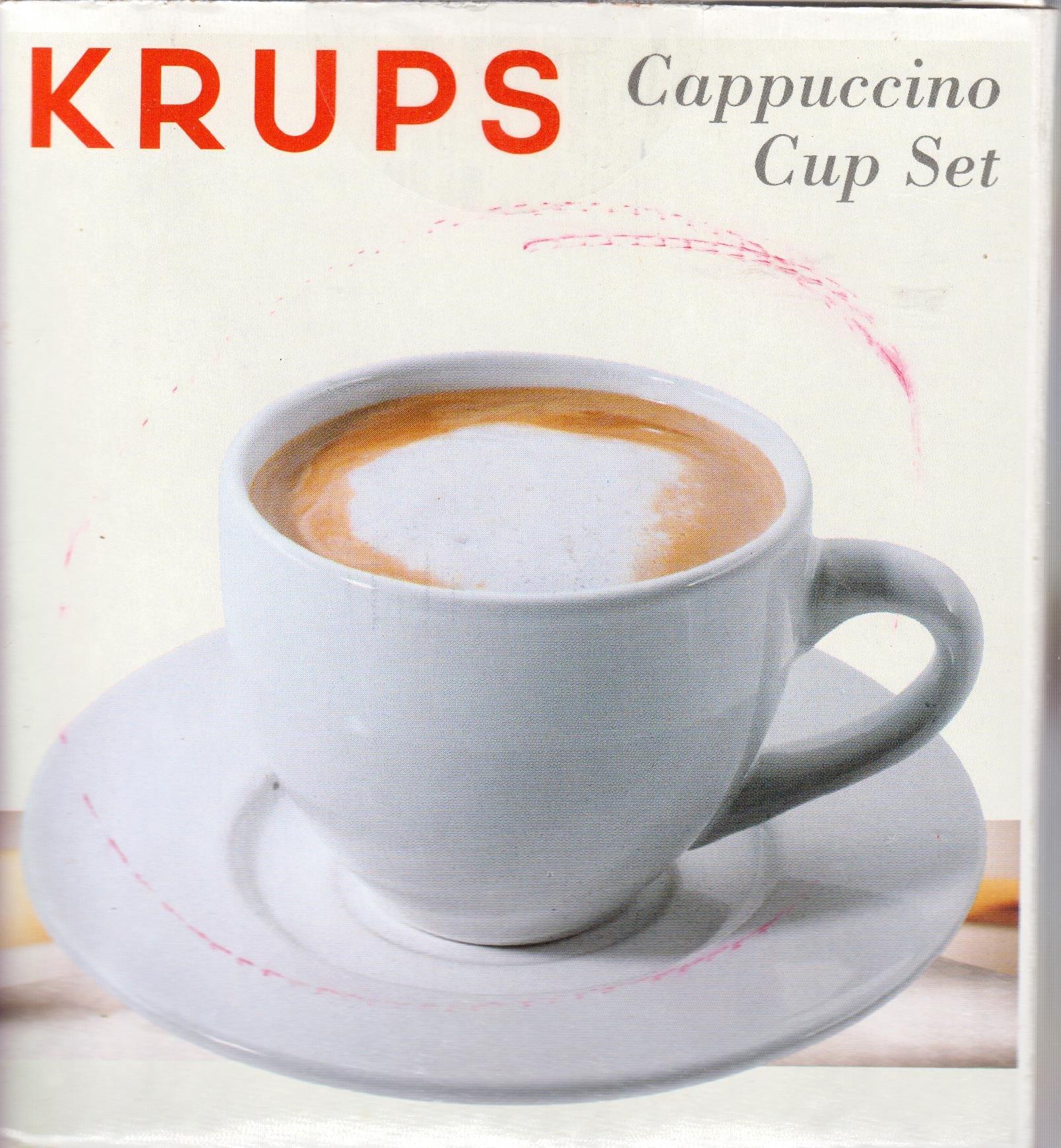 Krups Cappuccino Cup Set