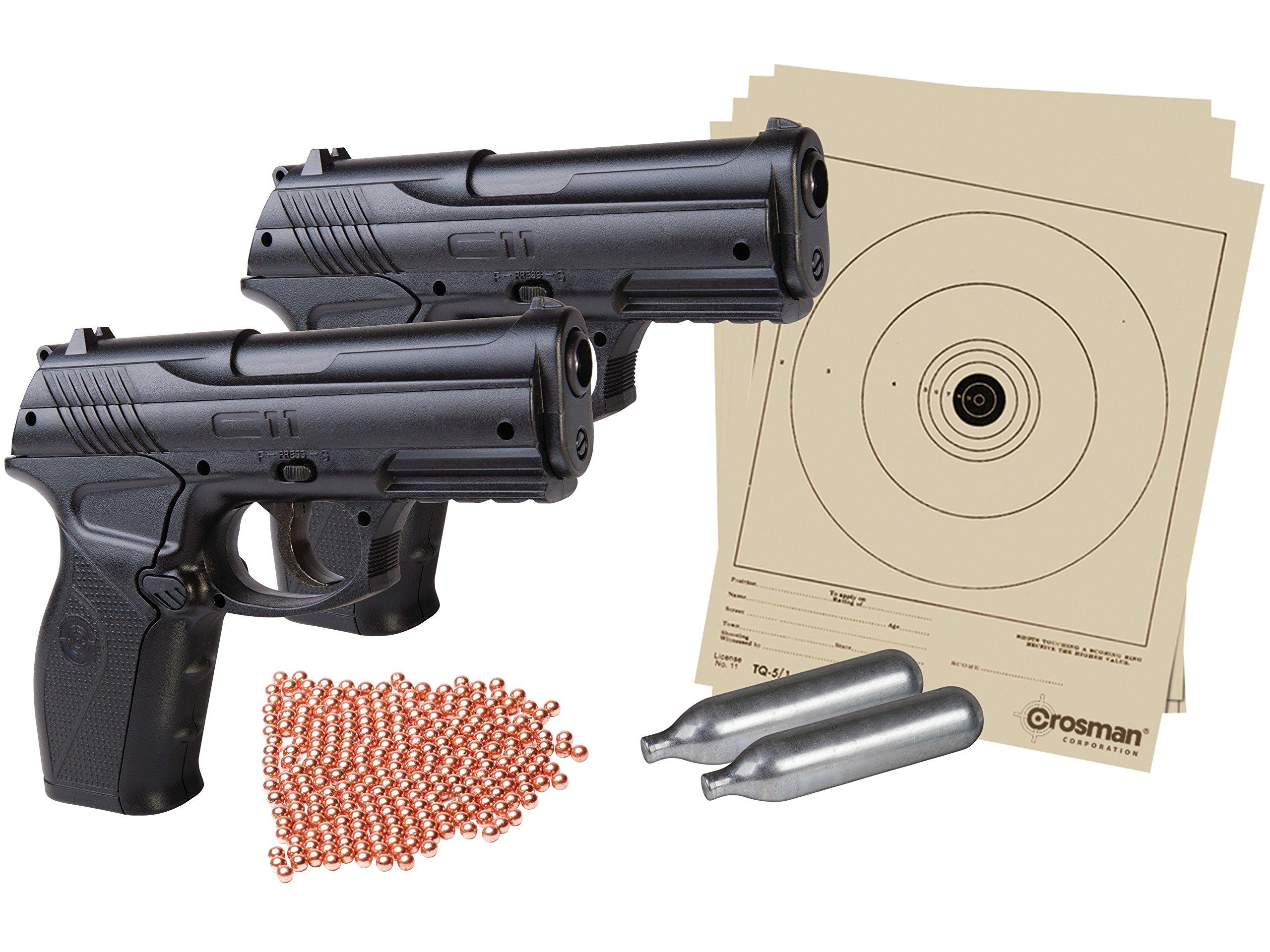 Crosman CC11KT2 Double Down Pistol Kit