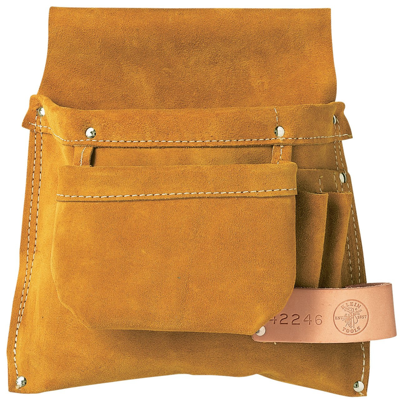 Left-Hand Nail and Tool Pouch Klein Tools 42246 by Klein Tools