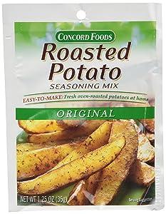 Concord Foods Roasted Potato Seasoning Mix (1 packet - seasons 5 pounds of potatoes)