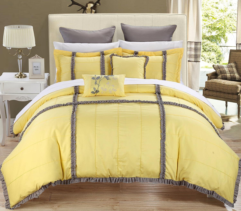 amazoncom chic home legend peach king piece bedding comforter  - amazoncom chic home legend peach king piece bedding comforter setcozy and elegant home  kitchen