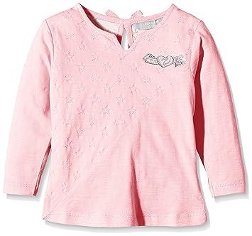 Zunstar Zara-Camiseta de Manga Larga para niña Rosa Pale Pink Talla:FR :