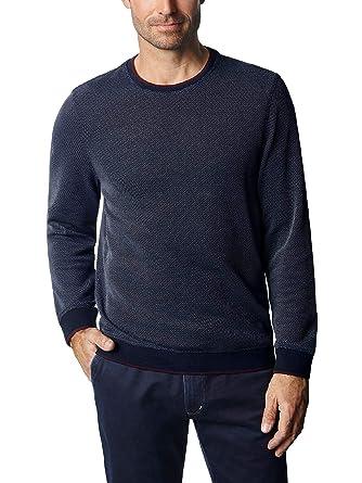 Walbusch Herren Soft-Pullover Bicolor einfarbig  Walbusch  Amazon.de   Bekleidung dfef3c4764