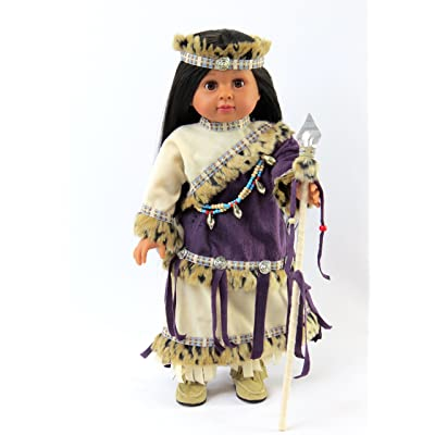 "Purple Native American Outfit | Fits 18"" American Girl Dolls, Madame Alexander, Our Generation, etc. 
