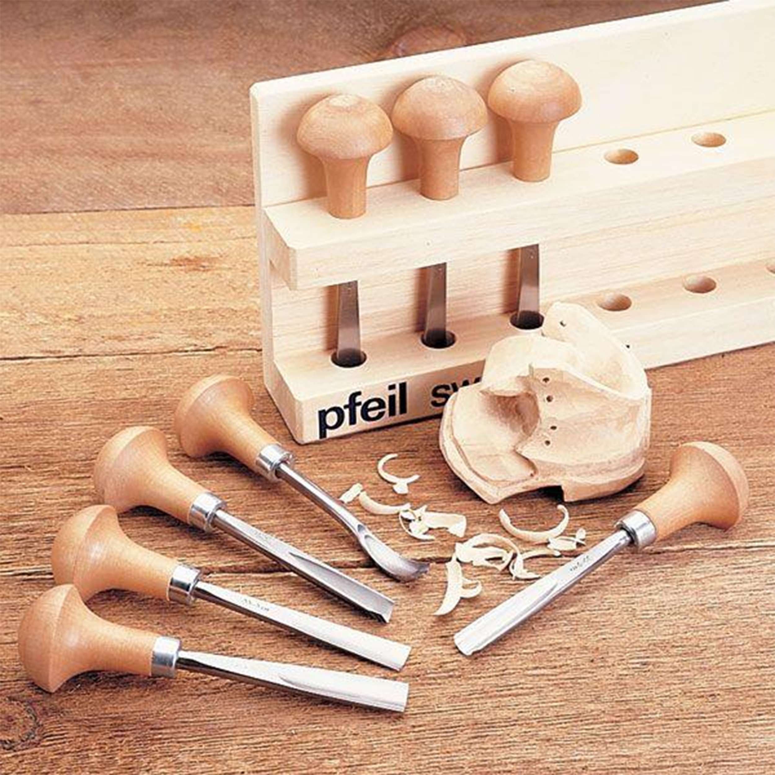 """PFEIL""""Swiss Made"""" Palm Set B, 8 Pieces"""