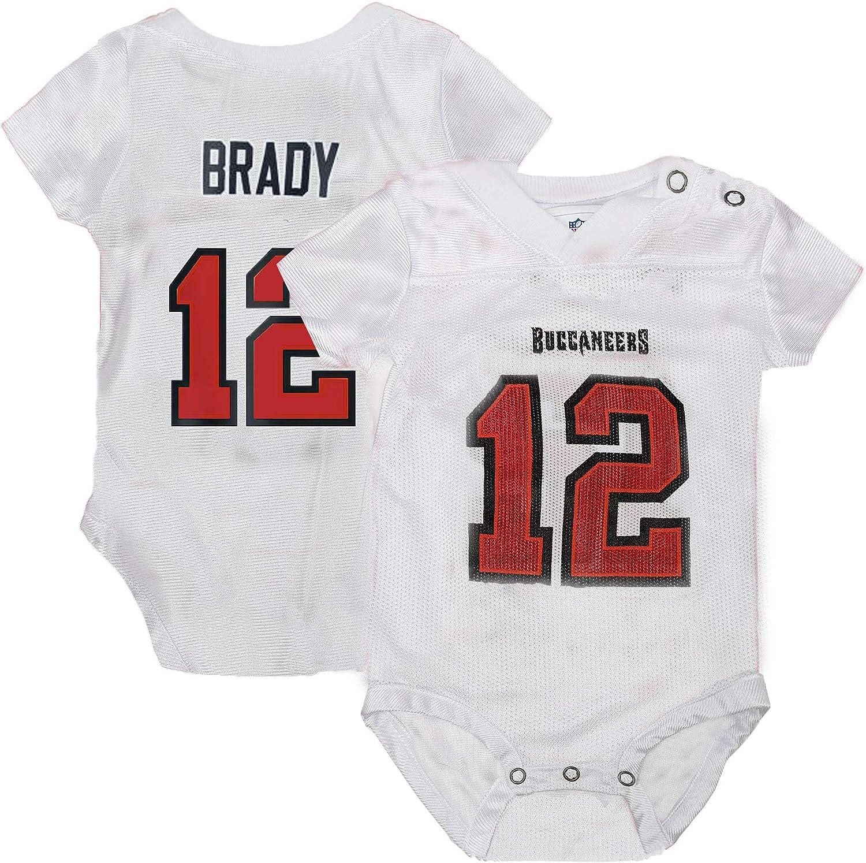 Fan Shop Outerstuff Tom Brady Tampa Bay Buccaneers #12 Infant ...