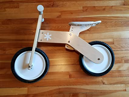 Amazon.com: Treehaus Wood Balance Bike: Toys & Games