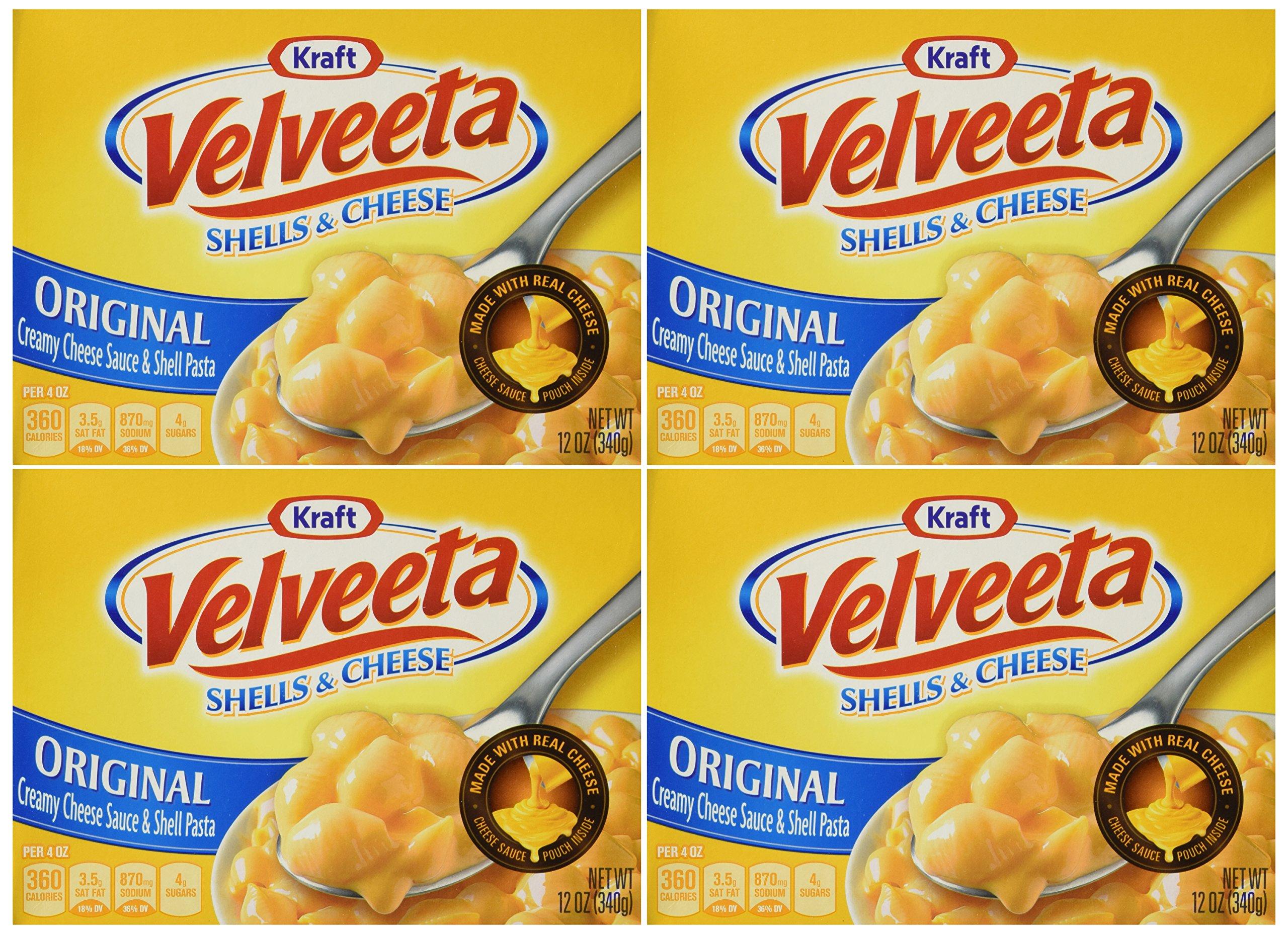 Velveeta Shells & Cheese The Original - 12oz - 4 Boxes