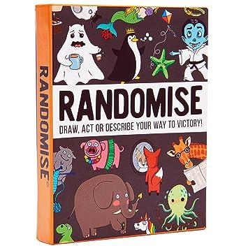 Randomise: Zeichne, Spiele und beschreibe deinen Weg Zum Sieg ...