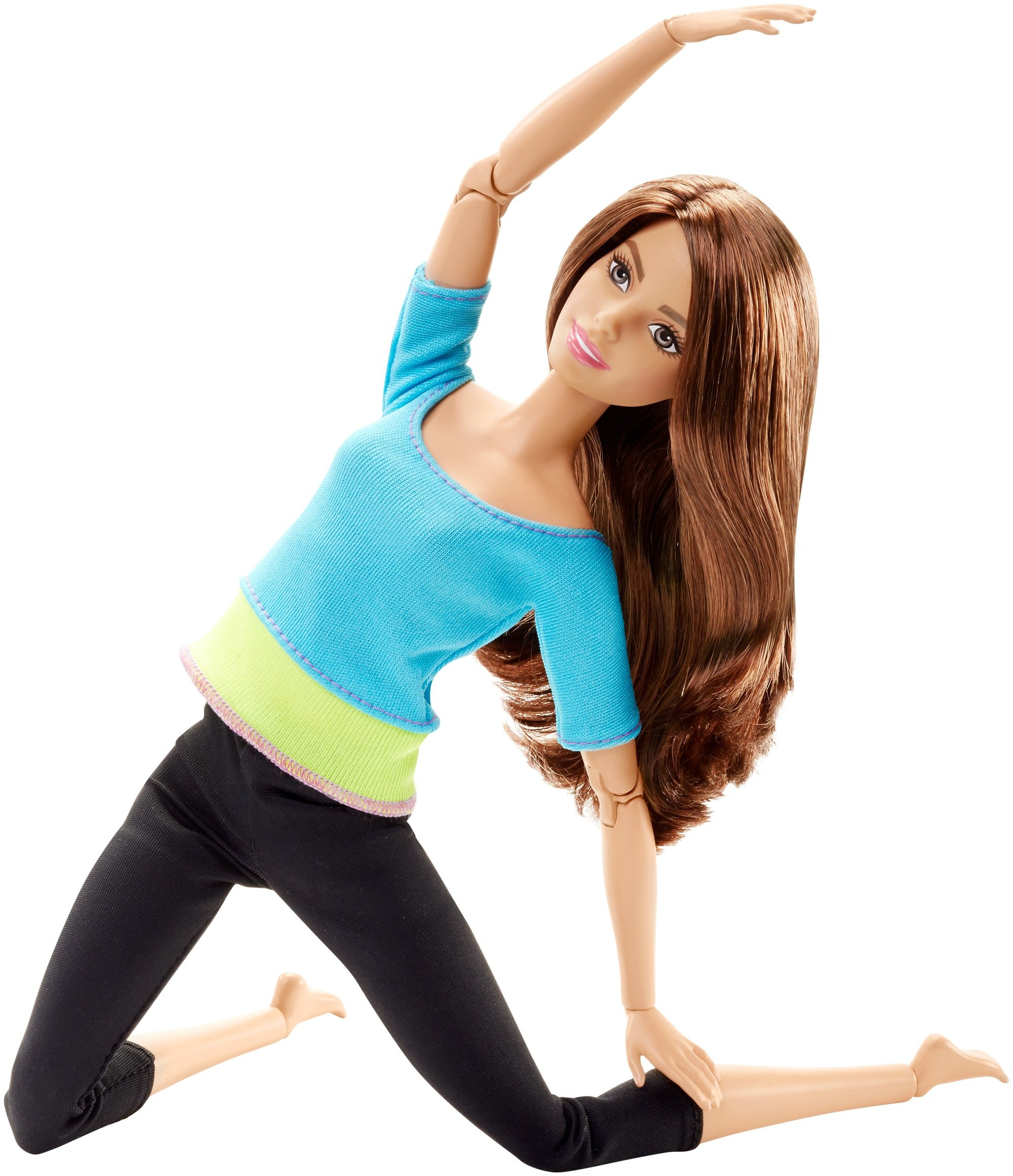 Barbie Made to Move Doll, Blue Top by Barbie (Image #3)