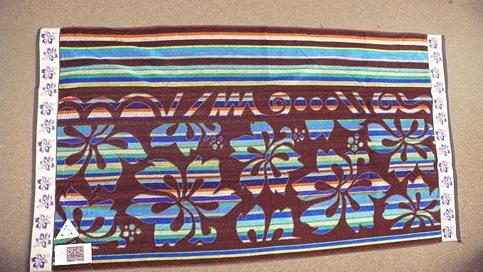 TOALLA PLAYA - PISCINA 100% ALGODON EGIPCIO 95 X 175 CM BROWN SUGAR SURF: Amazon.es: Hogar